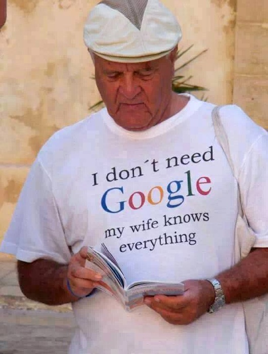 I do not need Google...